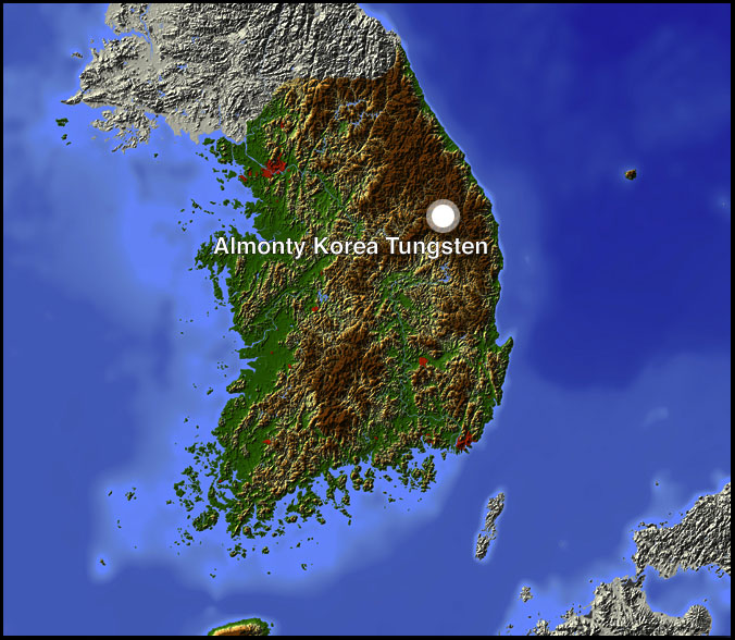 Almonty Korea Wolfram