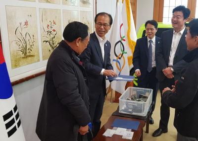 Gouverneur Moon-Soon Choi unterstützt eines der renommiertesten Projekte Südkoreas