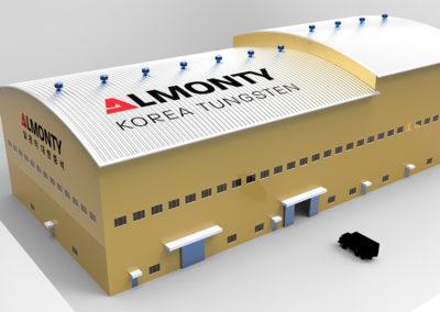 Almonty finalisiert Anlagengrundriss der Mine Sangdong nach Festlegung des Standorts der Bergeversatzanlage