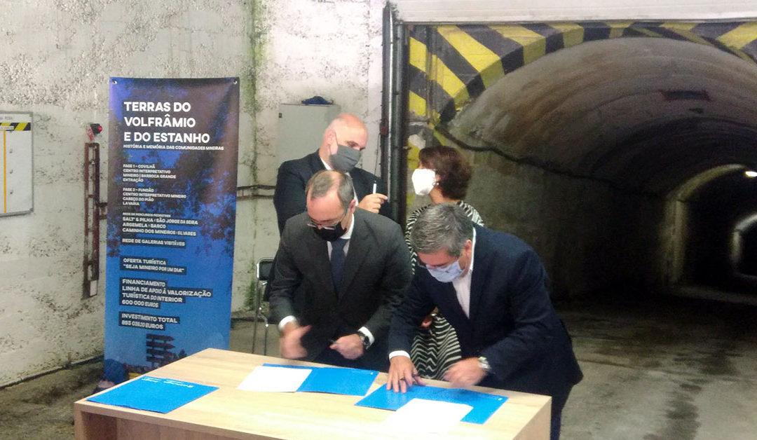 Abkommen zur touristischen Entwicklung - Panasqueira Mine