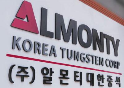 Almonty Industries Inc. Gibt Neues Board Mitglied Und Fokussierung Auf Korea Bekannt.