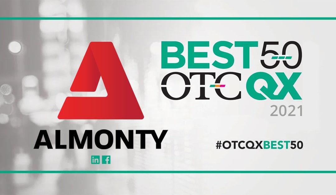 """Almonty Industries wird in die """"OTCQX Best 50 2021"""" gewählt"""